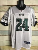Reebok  NFL #24 Asomugha White size 48  Philadelphia Eagles Jersey on field - €22,76 EUR
