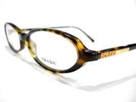 Prada Eyeglasses Frame VPR 19G Brown 2AU-1O1 Authentic 50-15-135 - $88.78