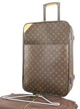 Authentic LOUIS VUITTON Pegase 55 Monogram Canvas Travel Rolling Suitcase #38492 - $1,305.00