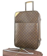Authentic LOUIS VUITTON Pegase 55 Monogram Canvas Travel Rolling Suitcas... - $1,305.00