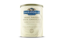 Ghirardelli Chocolate Sweet Ground White Chocolate Flavor Beverage Mix, 50-Ounce - $46.97