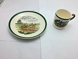Spode England Full Cry  Off To Draw Espresso  Cup - $18.81