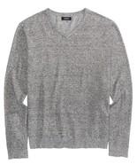 Alfani Men's V-Neck Sweater Zinc Heather Size X-Large  - $29.70