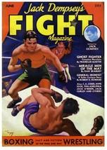 JACK DEMPSEY FIGHT MAGAZINE 8X10 PHOTO BOXING PICTURE - $4.94