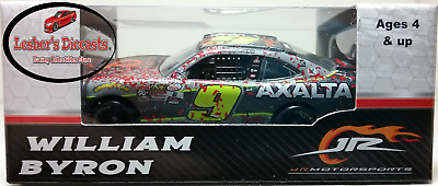 William Byron 2017 #9 Axalta Camaro Daytona Raced Win Xfinity Series 1:64 ARC -