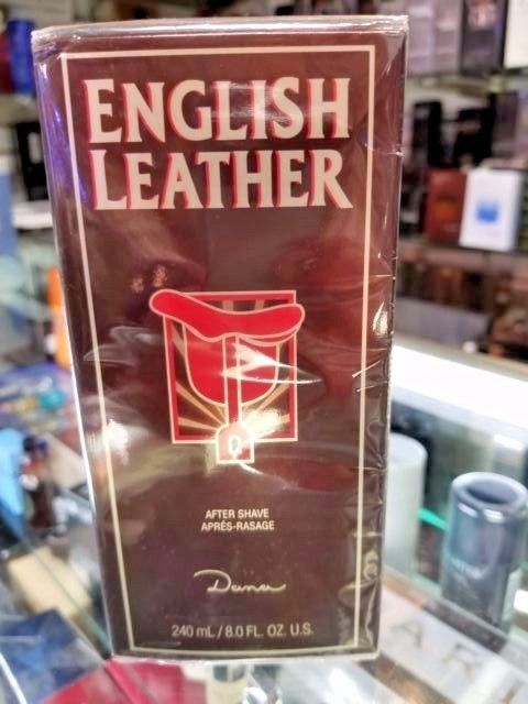 English Leather After Shave for Men by Dana 8 oz 236 ml ** NEW IN SEALED BOX **