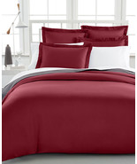 Charter Club Damask Solid 500 Thread Count King Duvet Cover Bedding - $89.09