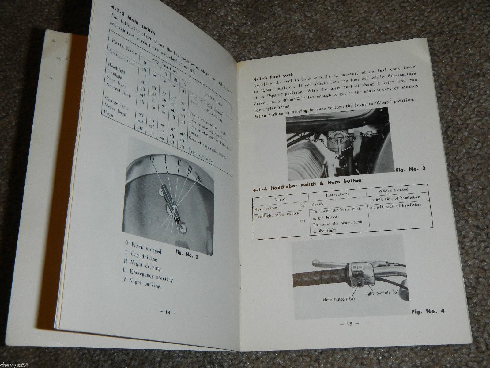 1967 67 yamaha ym2 c 305 ym2c big bear rider and 15 similar items rh bonanza com