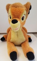 "Disney Store Exclusive Original Bambi 13"" Plush Doll Stuffed Animal  - $15.58"