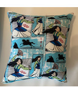 Mulan Pillow New Disney Mulan 2020 Design Pillow Handmade In USA - $10.34
