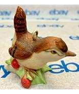 """Lowell Davis """"Wren"""" Ornament 1988 Schmid Bird 223506 Country Christmas - $34.63"""