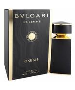 Bvlgari Le Gemme Onekh Eau De Parfum Spray 3.4 Oz For Men  - $404.70
