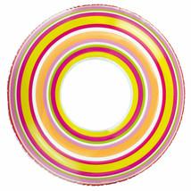 "Intex Tube Spiral Tube 36"" Pink, Green, White Brand New"
