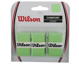Wilson Tennis Pro Overgrip 3 Pack Green Comfort Badminton Tape Racket WR... - $14.48