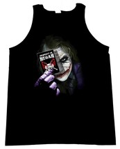 The Joker With Card and The Walking Dead Negan Lucille Image Men's Tank Top - $20.78