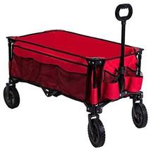 Timber Ridge Camping Wagon Folding Garden Cart Collapsible Heavy Duty Ut... - $89.98