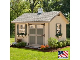 Woman Cave 8 x 12 ft. D Wood She Shed w/ Panelized Wall Sections and Har... - $4,386.97