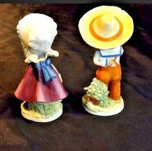 Boy and Girl KW7535 AA18-1189  2 Lefton Vintage Figurines image 3