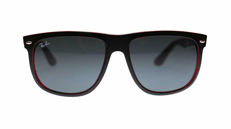 Ray Ban Highstreet Mens Sunglasses RB4147 617187 Top Mat Black On Red 56mm