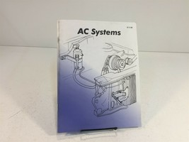1998 Standard Motor Products AC Systems Workbook - $19.99