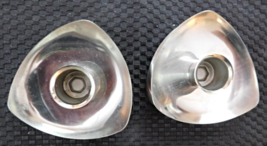 Avon Stainless Candle Holders X3  - $9.99