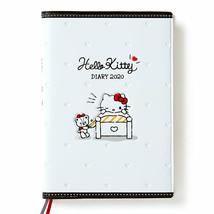 Hello Kitty Schedule Book A6 Diary White 2020 SANRIO Cute - $35.53