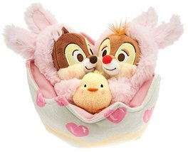 Disney Chip 'n Dale Plush Easter Basket Set - Mini 412315944632 - $39.95