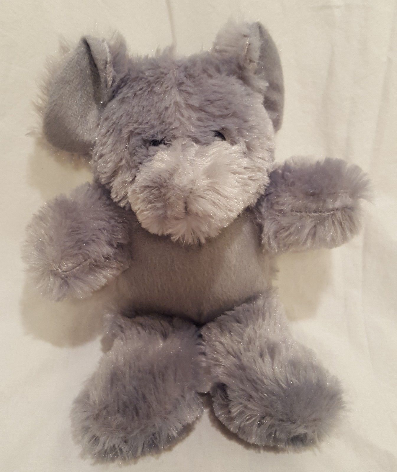 "Elephant Gray Plush Stuffed Animal 10""  EEC International Inc"