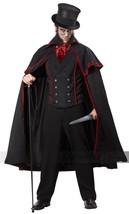 California Costumi Jack The Ripper Murderer da Uomo Adulto Halloween 01132 - £50.03 GBP