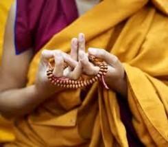 Tibetan Sandalwood Prayer Beads image 3