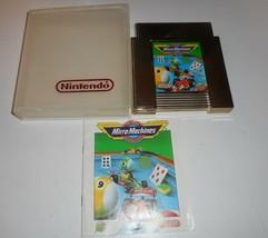 Vintage Originale Nintendo Nes 1991 Micro Machinette Gold Videogioco & M... - $43.17