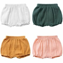 Toddler Baby Girls Boys Shorts Cotton Summer Elastic Casual Pants Trun... - $11.59+