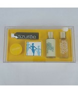 Vintage Estee Lauder Azuree Gift Set Perfumed Sunshine Cologne Splash Lo... - $56.09