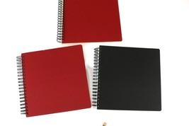 Lot of 3 Spiral Bound sketch book journals scrapbook album - $30.00