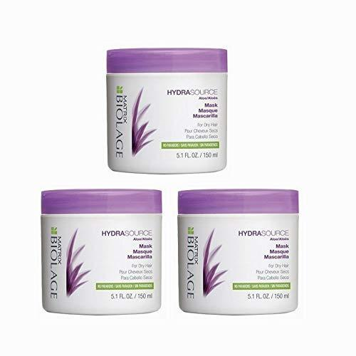 3 Pack Hydrasource Hair Mask For Dry Hair 5.1 oz / 150 ml image 1