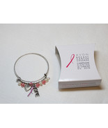 Ladies Womens Avon Breast Cancer Crusade Charm Bracelet F3983781 NIP;; - $13.60