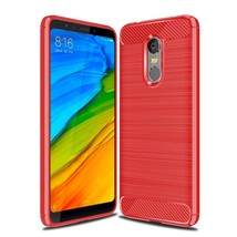Carbon Fiber Phone Cases For Xiaomi Redmi Case Silicone (Red Case) - $13.99