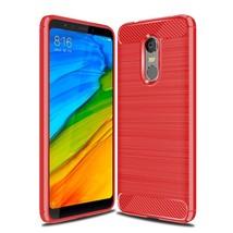 S carbon fiber phone cases for xiaomi redmi 5 case silicone soft fashion tpu back cover thumb200