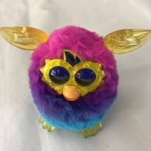 Furby Boom Crystal Series Pink Blue Purple Electronic Interactive Toy Go... - $46.39