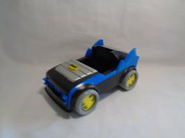 2007 Mattel Dc Comics Batman Batmobile Push & Go Plastic Car Vehicle w/ ... - $4.83
