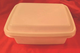 Tupperware Freezer Freeze SHEER Ice Cream Container #1254..SHEER Lid Sea... - $9.89