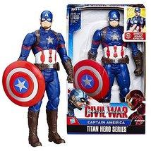 Marvel Year 2015 Captain America Civil War Titan Hero Series 12 Inch Tal... - $39.99