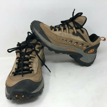 Merrell Womens Pulse Smoke Hiking Lace up Boots Shoes Size 8 Trail Hike Outdoor - $49.49