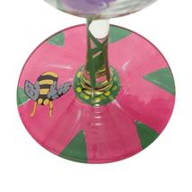 """My Drinking Garden  """"Designs by Lolita"""" Wine Glass 15 o.z. 9"""" High  Gift Boxed image 6"""