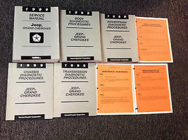 1999 JEEP GRAND CHEROKEE Service Repair Shop Manual SET W Diagnostics + ... - $197.99