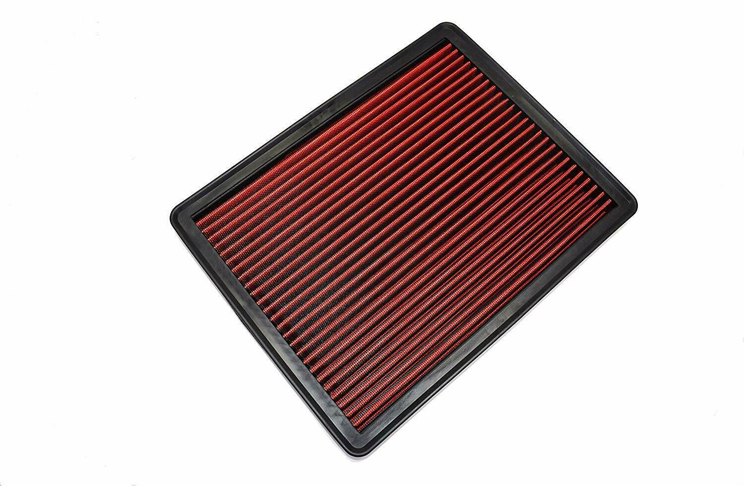 Engine Air Filter, Washable and Reusable 1999-2019 Chevy/GMC Truck and SUV V6/V8