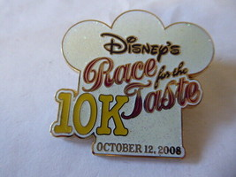 Disney Trading Pin  65704 WDW - Disney's Race for the Taste 2008 10K - Logo - $9.50