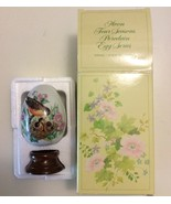 Avon 1984 Every Spring Brings New Beginning Collectible Egg Robin Bird w... - $9.95
