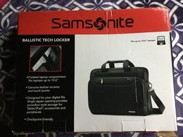 Samsonite Checkpoint Friendly Ballistic Tech Locker BriefCase - Black - $84.55