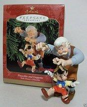 Hallmark Keepsake Ornament Pinocchio and Geppetto (Disney 1999) - $34.83
